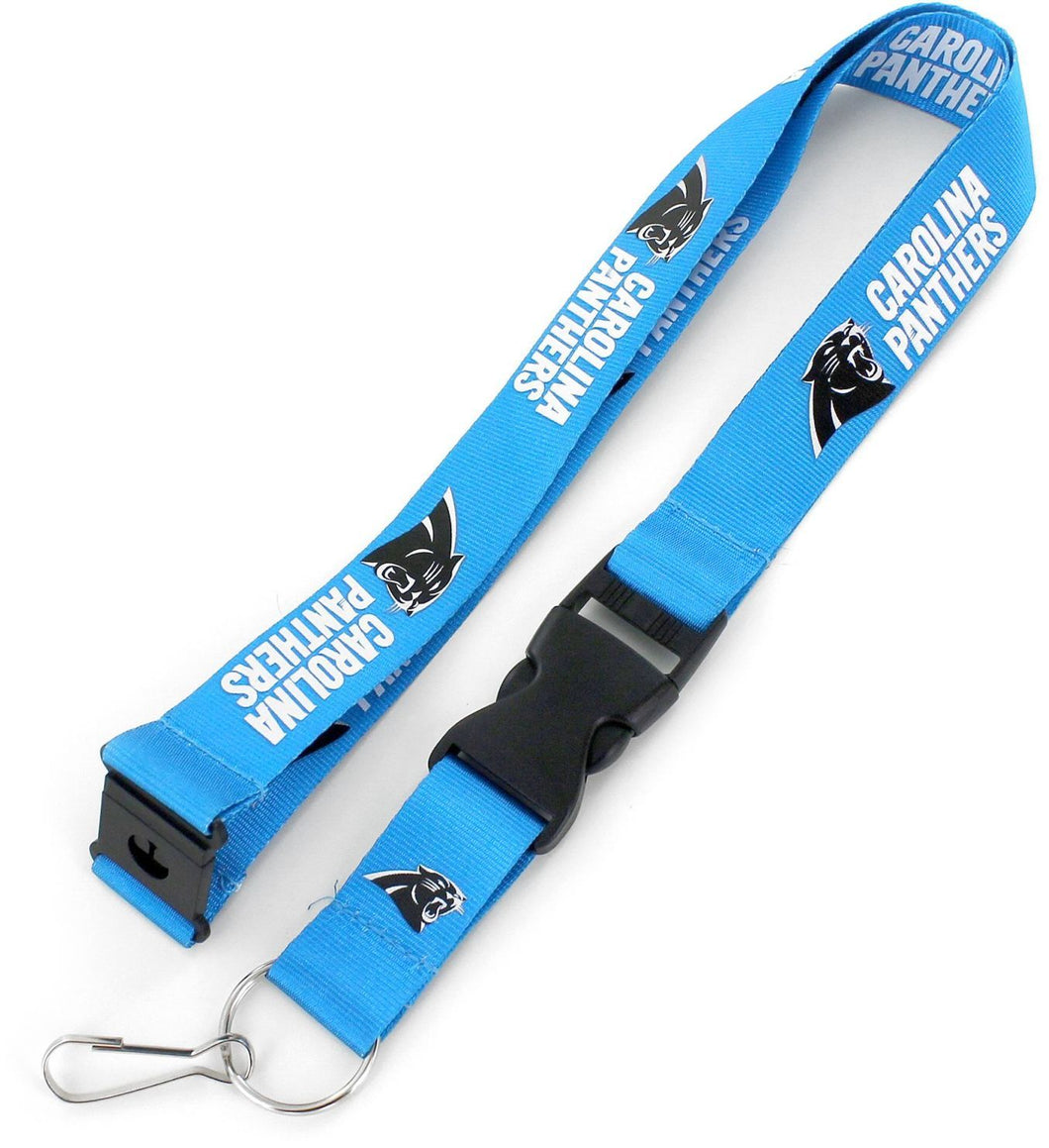 Carolina Panthers BLUE Officially NFL Licensed Logo Team Lanyard