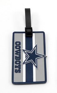 Dallas Cowboys NFL Soft Bag Tag