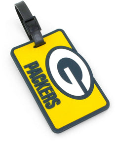 Green Bay Packers Soft Bag Tag