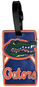 FLORIDA University Gators NCAA Licensed SOFT Luggage BAG TAG~ Orange and Blue