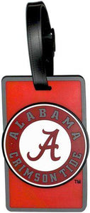 ALABAMA University NCAA Licensed SOFT Luggage BAG TAG