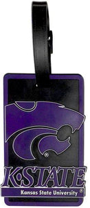 KANSAS STATE University Wildcats NCAA Licensed SOFT Luggage BAG TAG