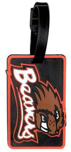 OREGON STATE Beavers NCAA Licensed SOFT Luggage BAG TAG ~ Orange and Black