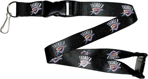 Oklahoma Thunder Officially NBA Licensed Logo Team Lanyard