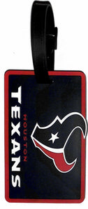 Houston Texans Soft Bag Tag