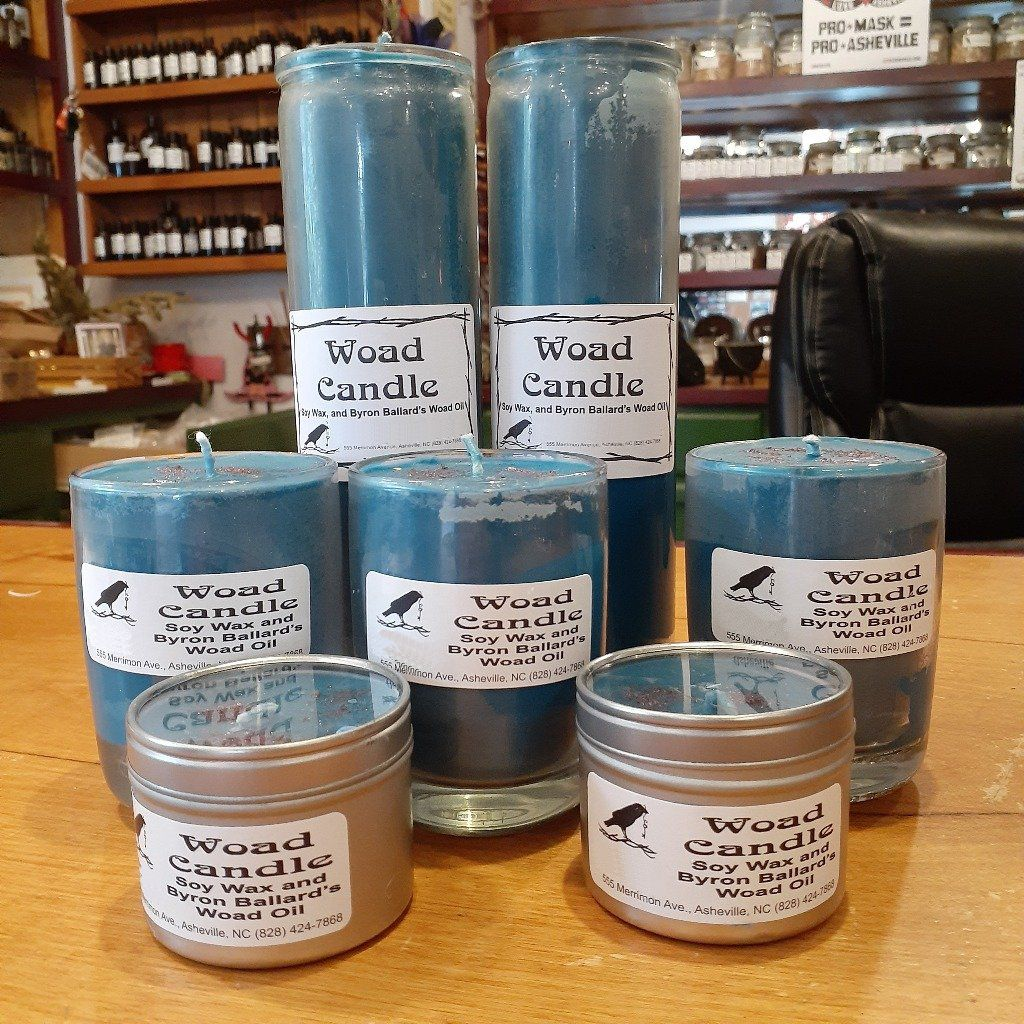 Woad Candles