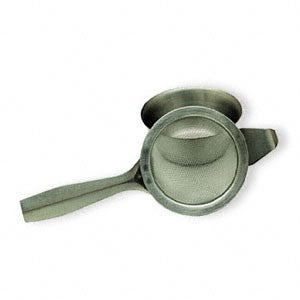 Tea Strainer with Handle and Drip Bowl