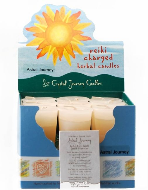 Astral Journey Herbal Votive Candle