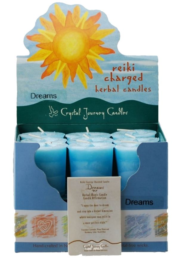 Dreams Herbal Votive Candle