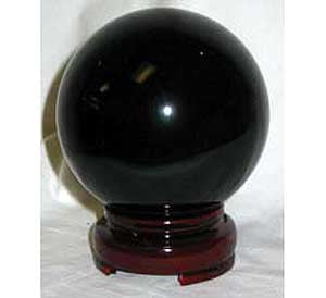 80mm Black Gazing Ball