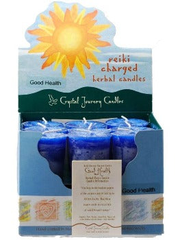 Good Health Herbal Votive Candle