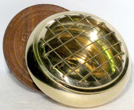 Brass Incense Burner with Screen 3""