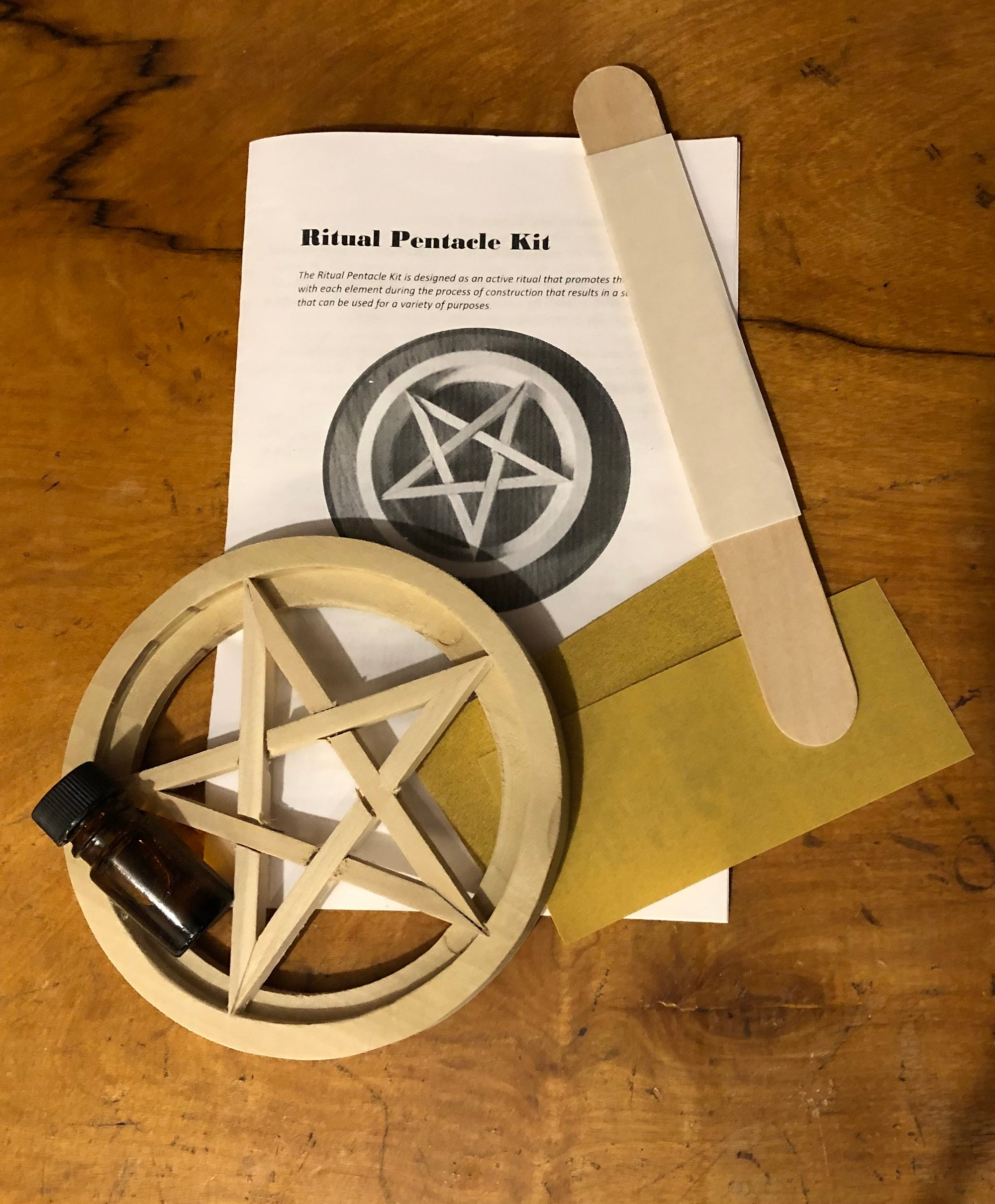 Ritual Pentacle Kit