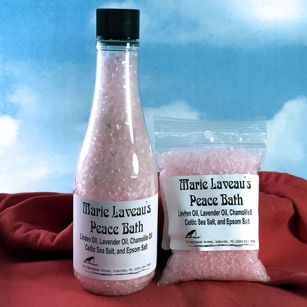 Marie Laveau's Peace Bath Salts