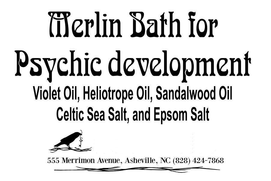 Merlin Bath Salts (for Psychic Development)
