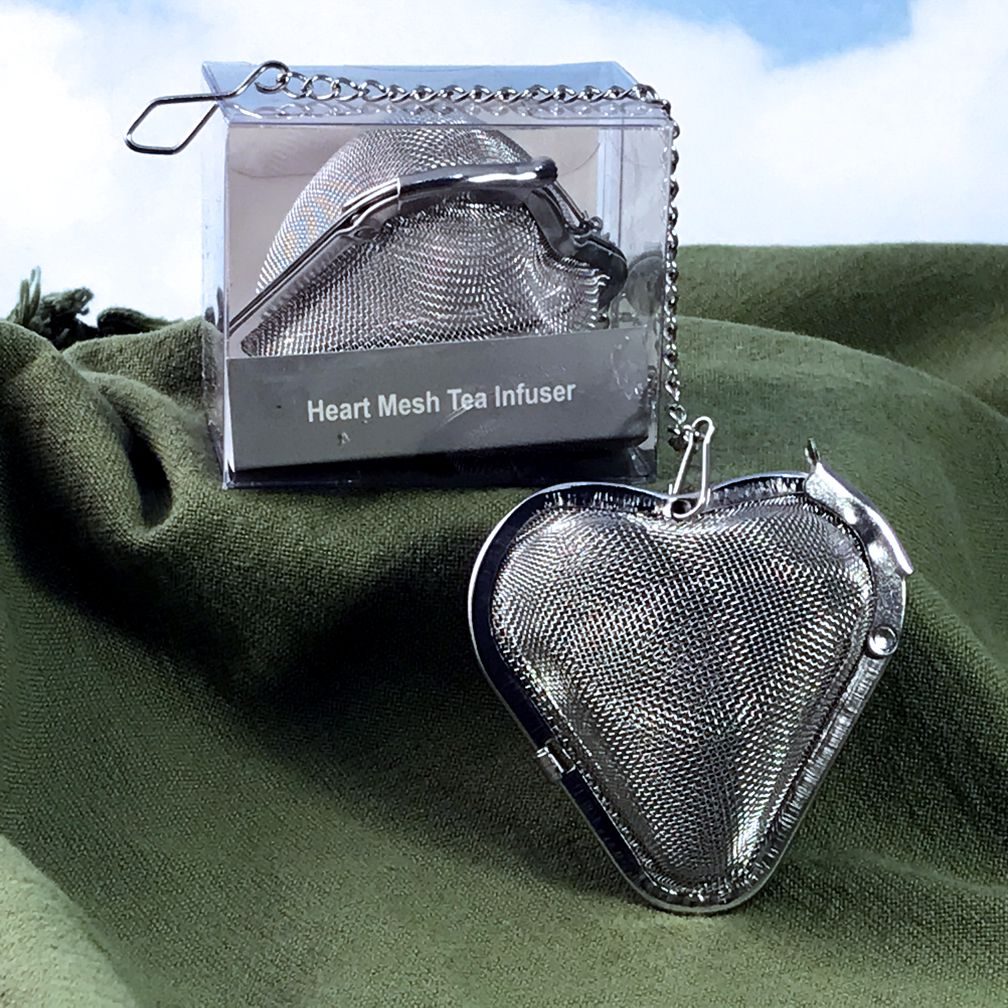 Tea Infuser Mesh Heart
