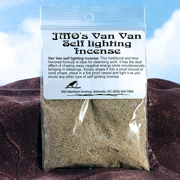 J-MO's Van Van Self Igniting Incense