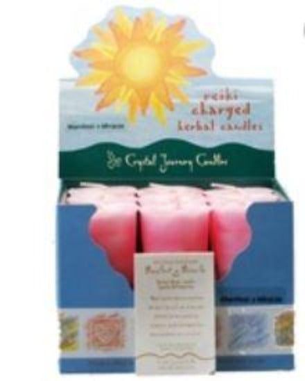 Manifest A Miracle Herbal Votive Candle