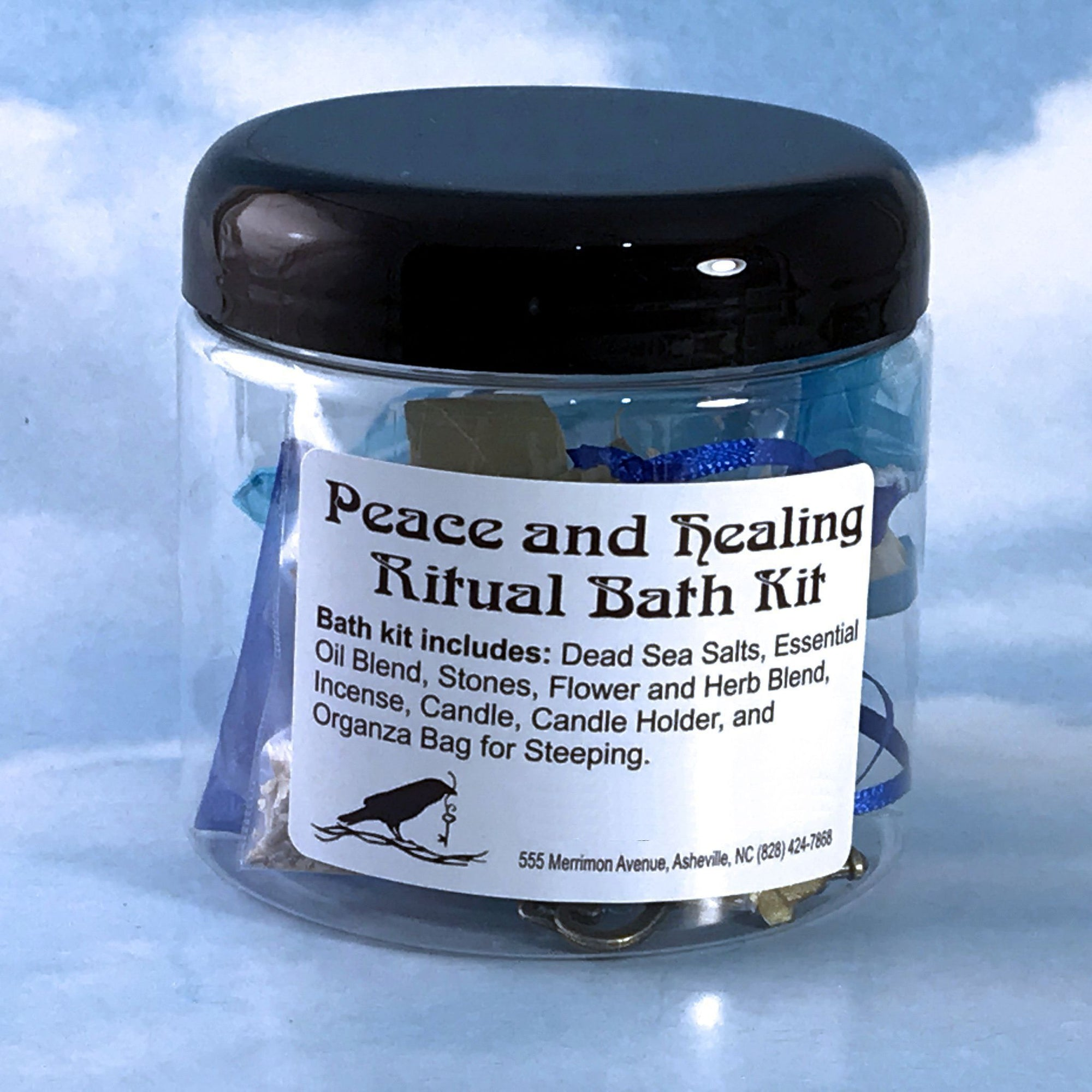 Peace and Healing Ritual Bath Kit