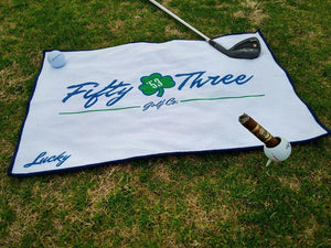 Custom golf towels