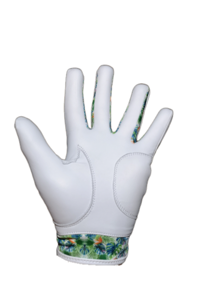 Lucky Tropical Leather Golf Glove