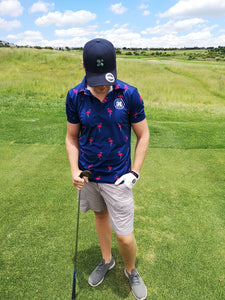 Lucky Flamingo  Golf Shirt
