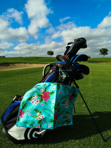 Floral Lucky Golf Towel