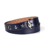Blue Gucci Marine Belt