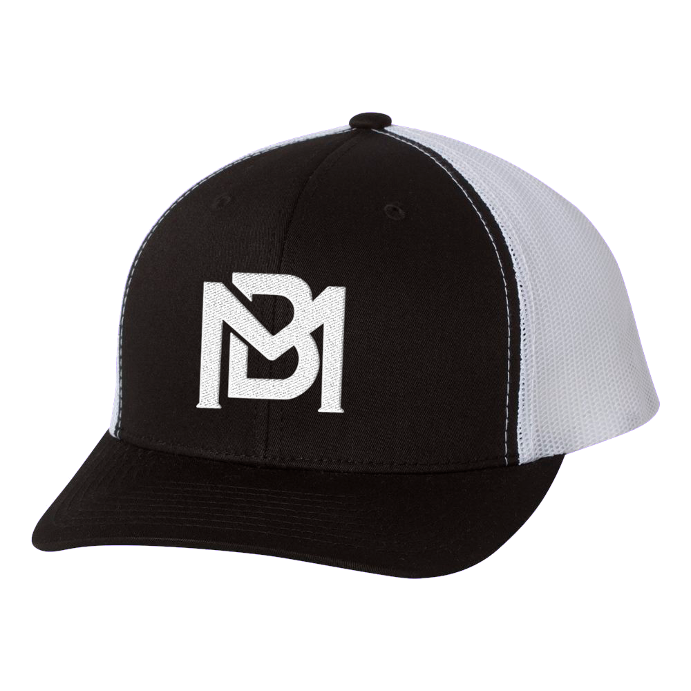 BM Black Trucker Hat