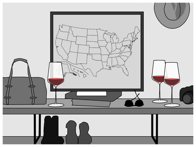 Journey Along Our Virtual Wine-Soaked Road Trip Across the USA