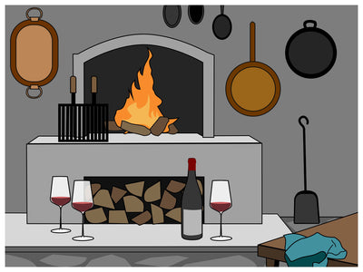 A Field Guide to Cooking Fireside