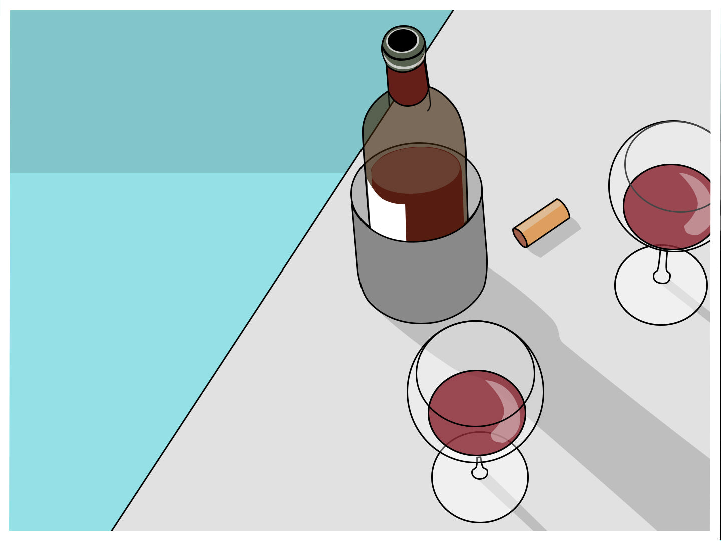 chilled red wines