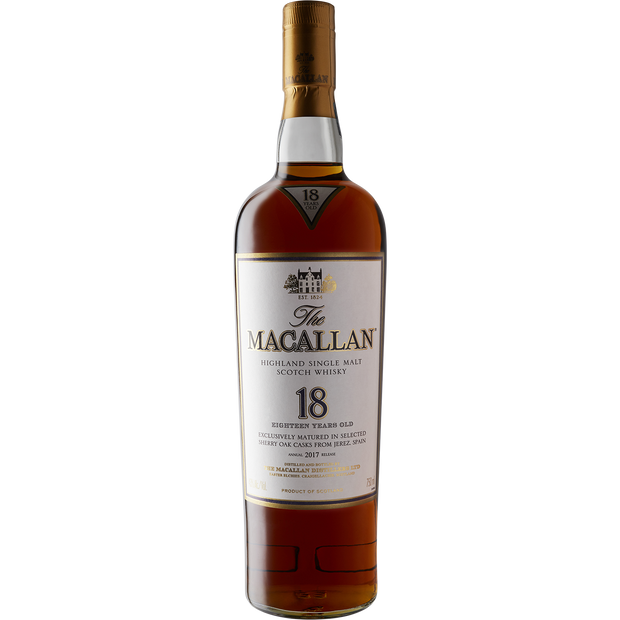 Macallan 18 Year Single Malt Scotch Whisky-Spirit-Verve Wine