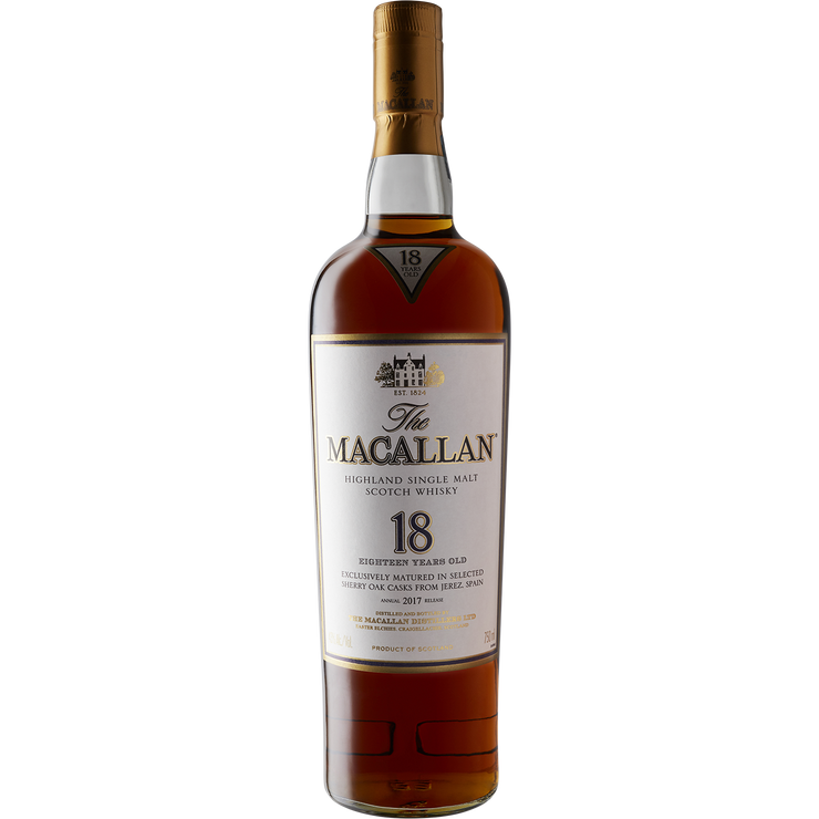 Macallan 18 Year Single Malt Scotch Whisky