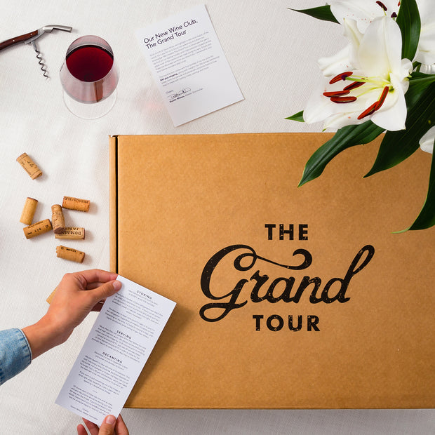 The Grand Tour Monthly Subscription-Wine-Verve Wine
