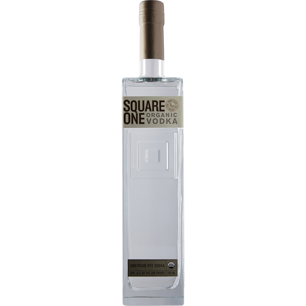 Square One Organic Rye Vodka-Spirit-Verve Wine