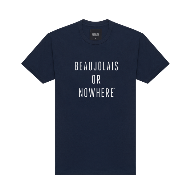 Knowlita x Verve Wine Beaujolais Tee — Navy-Apparel-Verve Wine