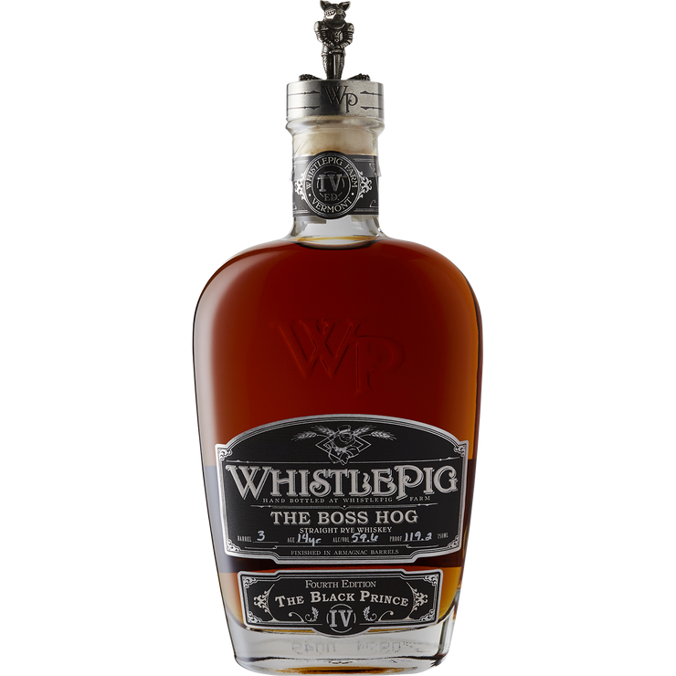 WhistlePig 'The Boss Hog - The Black Prince' Straight Rye Whiskey