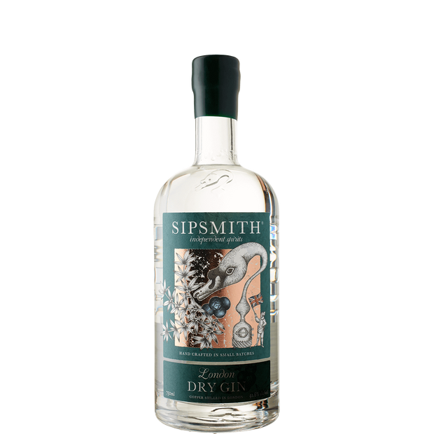 Sipsmith London Dry Gin-Spirit-Verve Wine