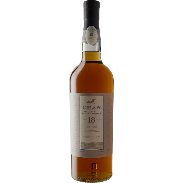 Oban 18 Year Single Malt Scotch Whiskey-Spirit-Verve Wine