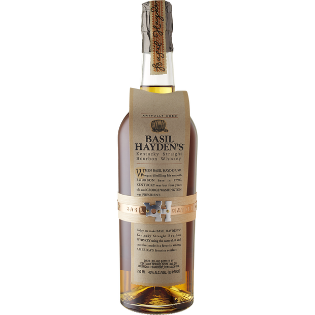 Basil Haydens Kentucky Straight Bourbon Whiskey-Spirit-Verve Wine
