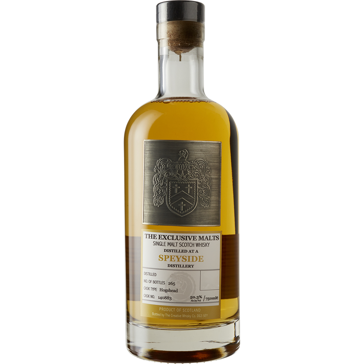 The Exclusive Malts 'Speyside 25yr' Single Malt Scotch Whisky 1992