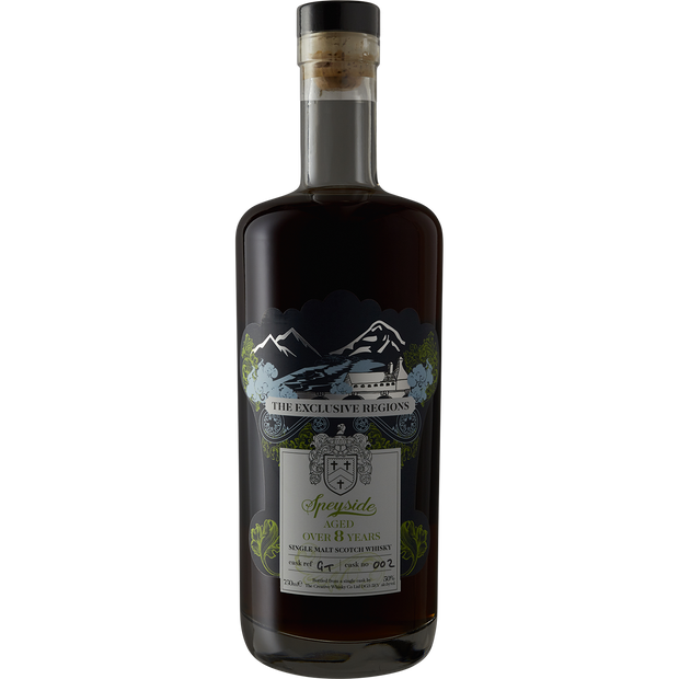 The Exclusive Regions '8 Year' Speyside Single Malt Scotch Whisky-Spirit-Verve Wine