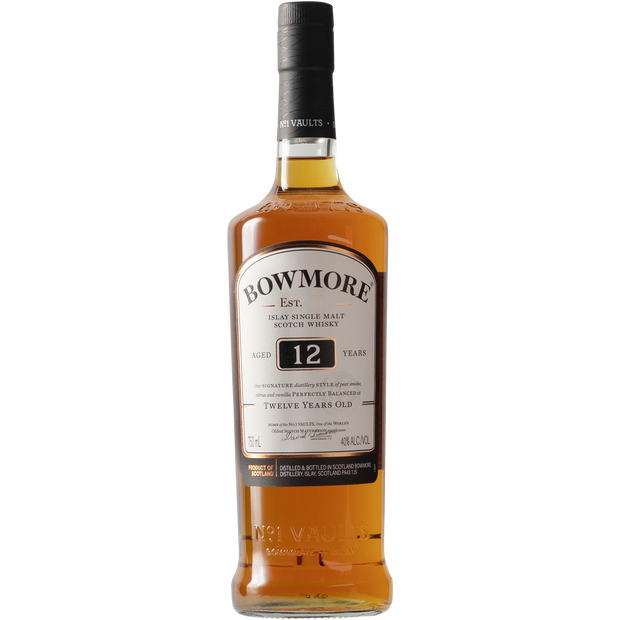 Bowmore 12 Year Single Malt Scotch Whisky-Spirit-Verve Wine