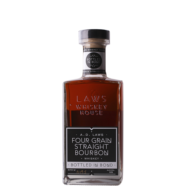 Laws Whiskey House 'Four Grain Bottled in Bond' Straight Bourbon Whiskey-Spirit-Verve Wine