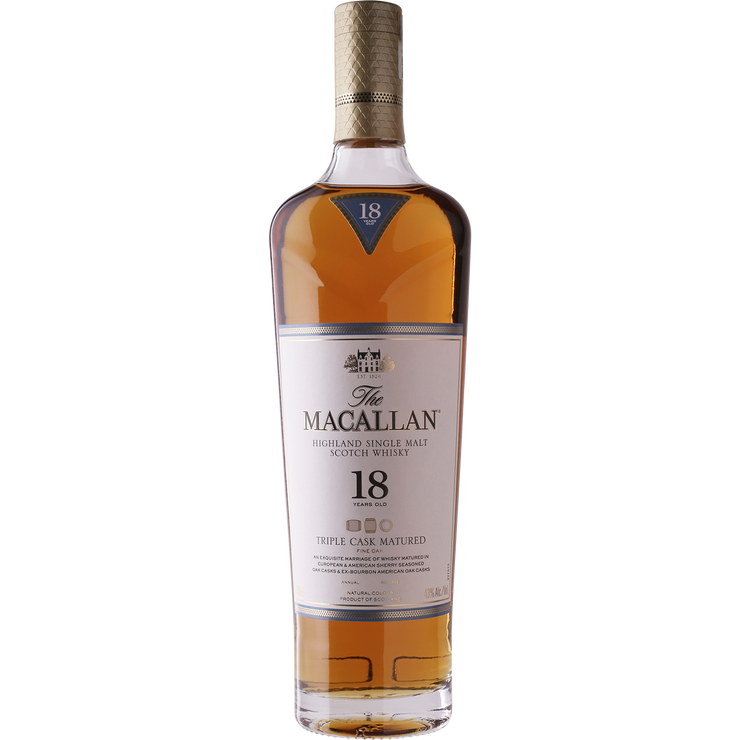 Macallan 'Triple Cask' 18 Year Single Malt Scotch Whisky