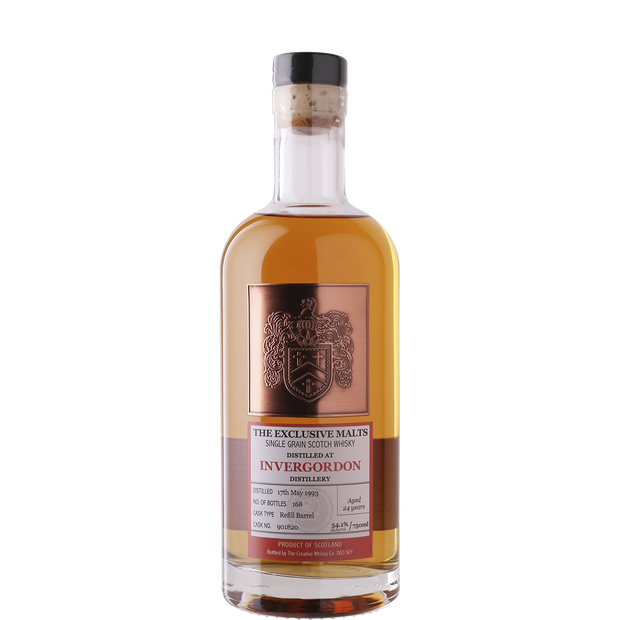 The Exclusive Malts 'Invergordon 24yr' Single Malt Scotch Whisky 1993-Spirit-Verve Wine