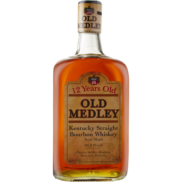 Charles Medley 'Old Medley 12yr' Kentucky Straight Bourbon Whiskey-Spirit-Verve Wine