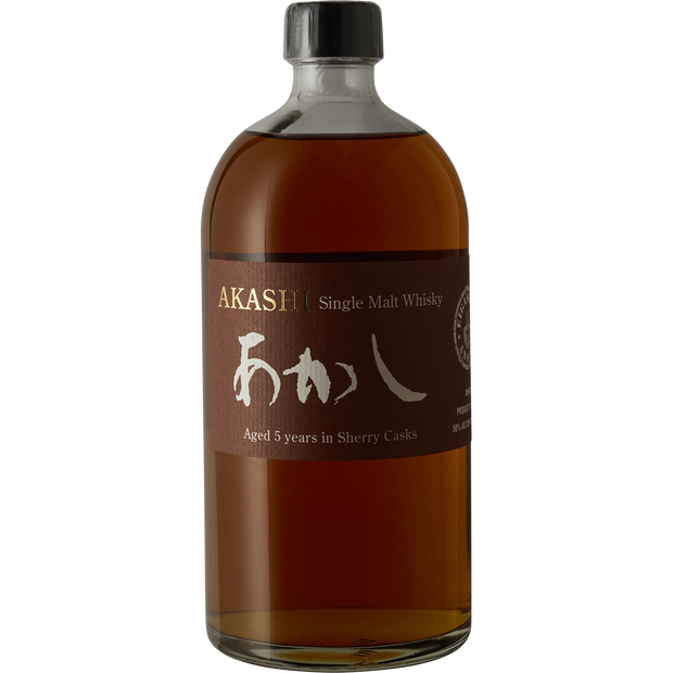 Eigashima Akashi 'Sherry Cask - 5yr' Single Malt Japanese Whisky