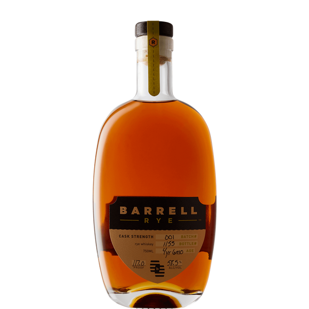 Barrell '#1' Rye Whiskey-Spirit-Verve Wine